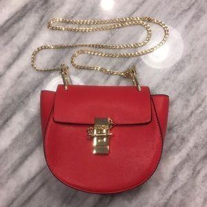 NWOT Saddle Bag Crossbody Purse Red